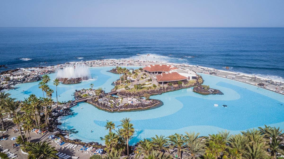 piscinas del lago martianez