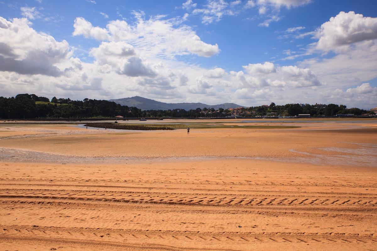Playa El Puntal en Santander