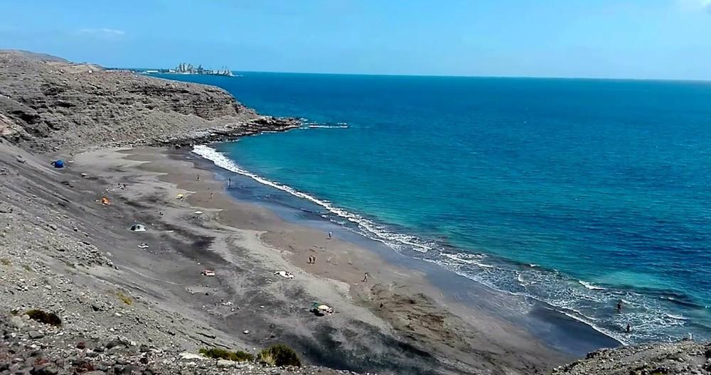playa montana de arena