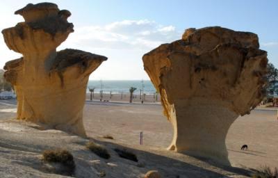 erosiones de Bolnuevo
