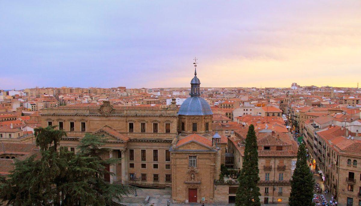 vista desde las torres de la catedral de salamanca
