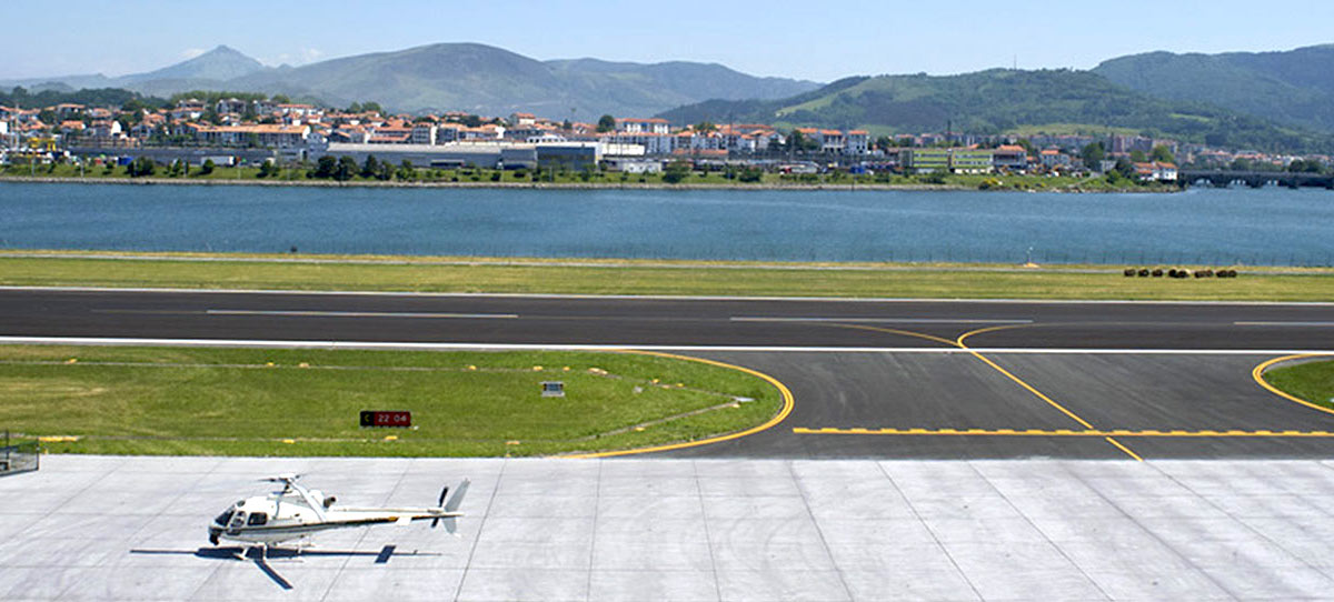 aeropuerto de san sebastian