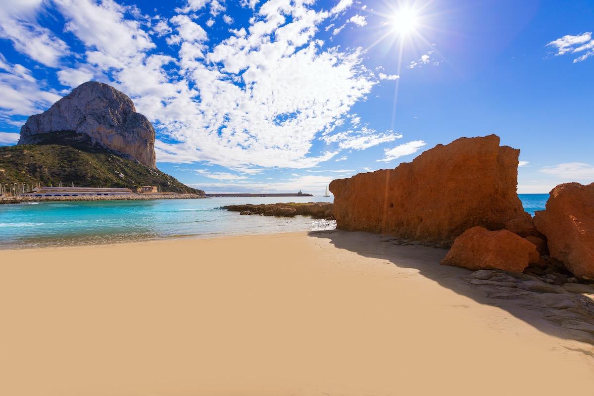 Playa Cantal en Calpe