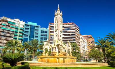 Plaza de Los luceros en Alicante
