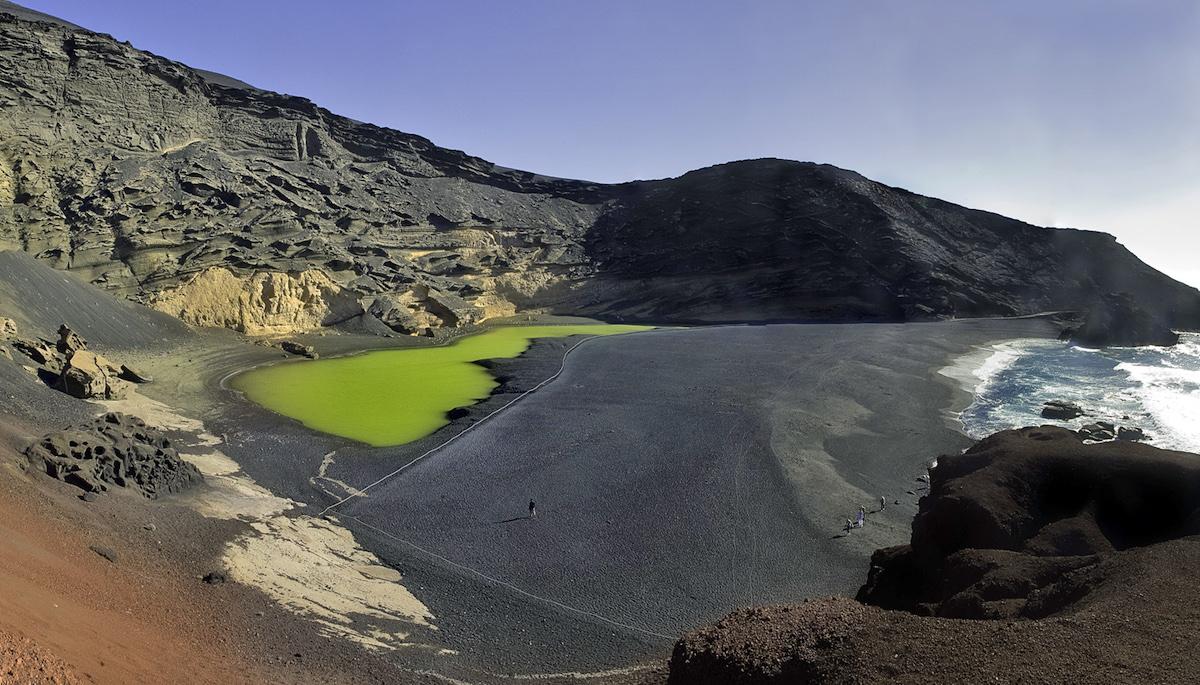 la laguna verde lanzarote