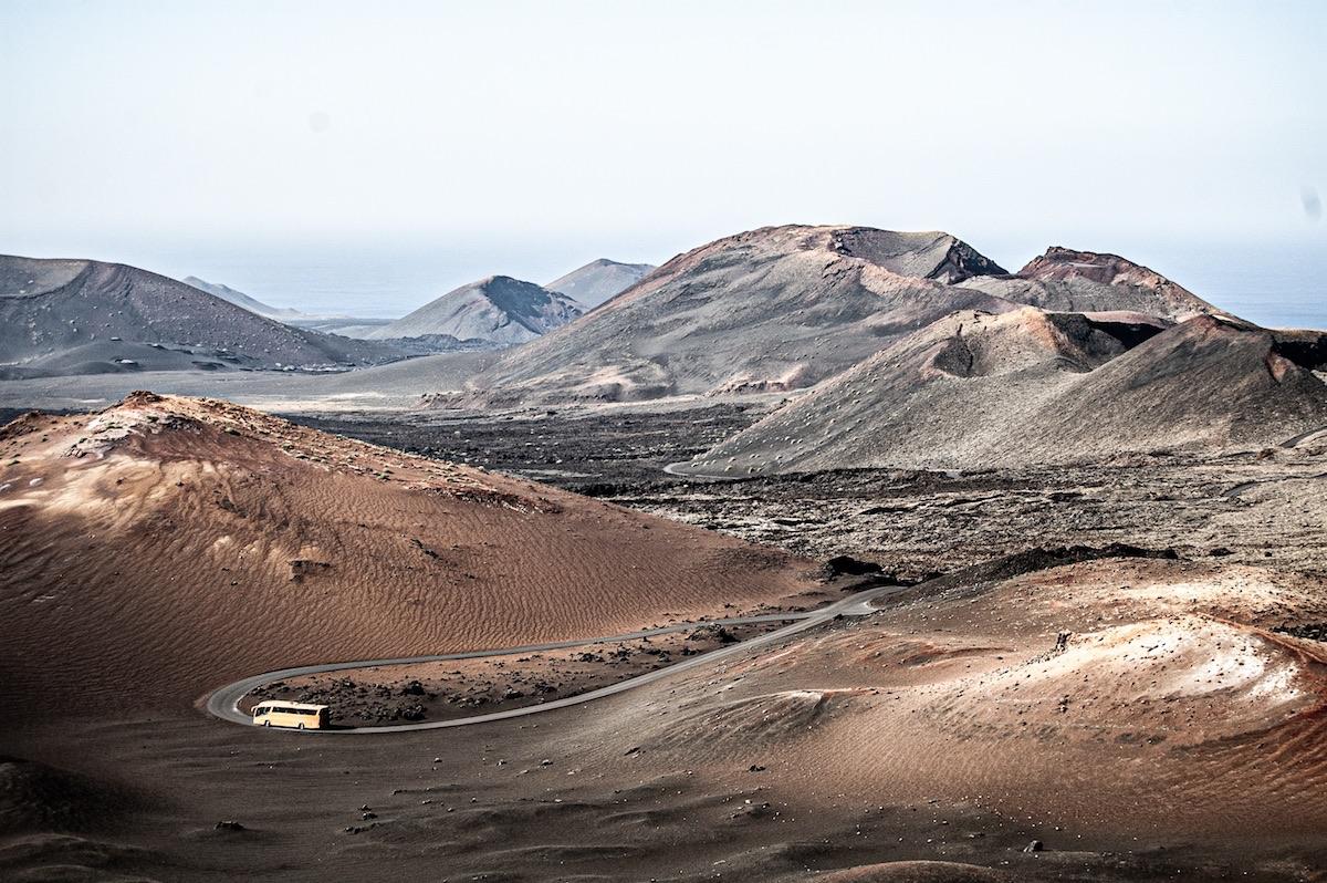 paisaje del timanfaya