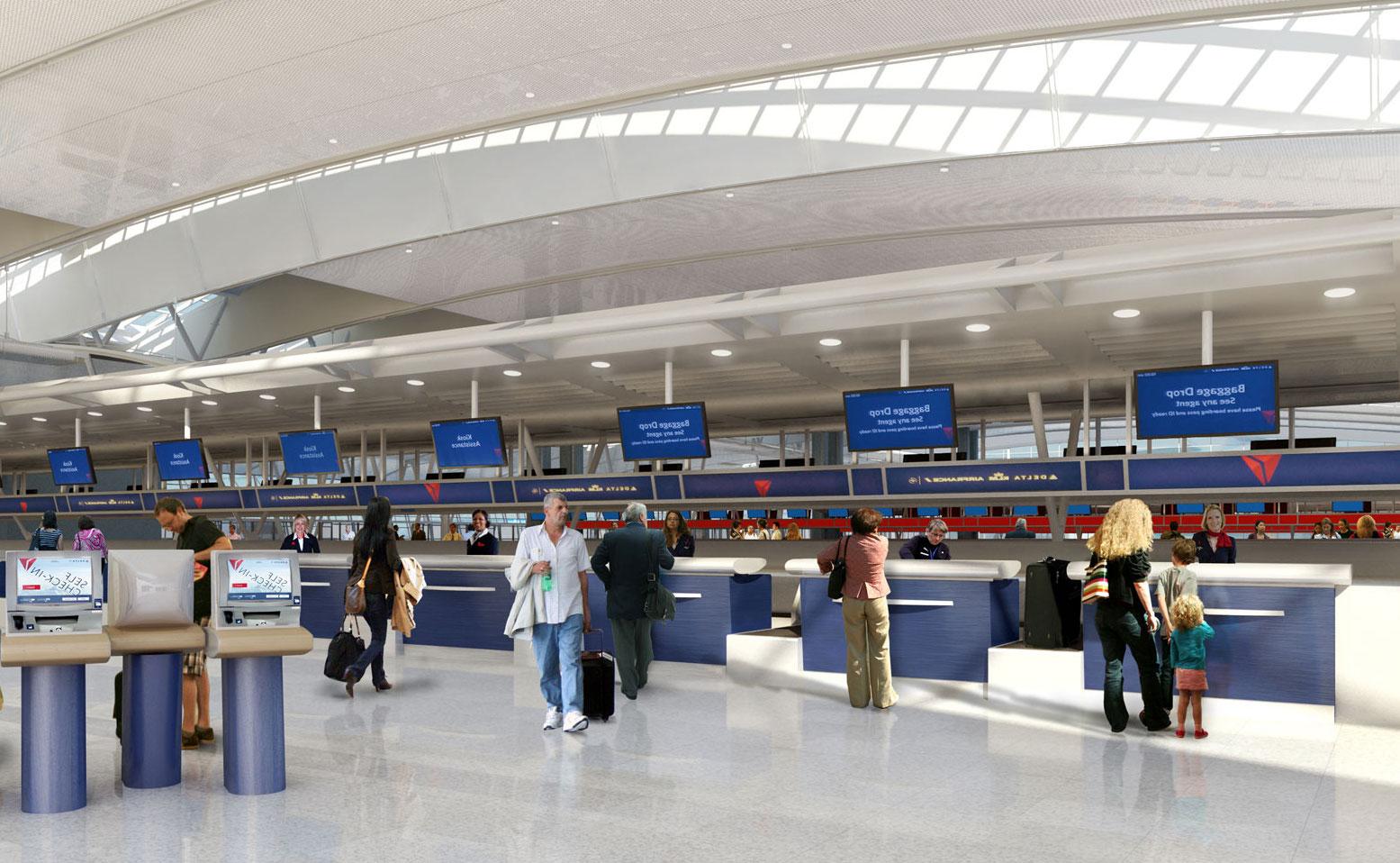 control acceso aeropuerto nueva york