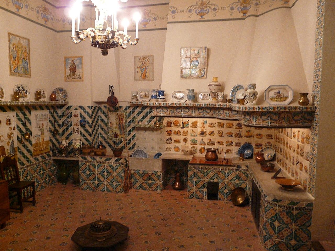 cocina museo nacional de ceramica de valencia