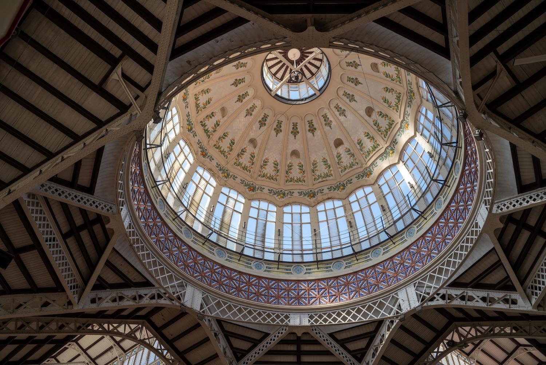 cupula del mercado central