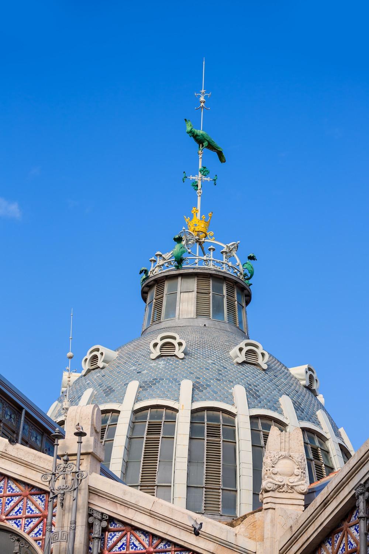 cupula exterior mercado central de valencia