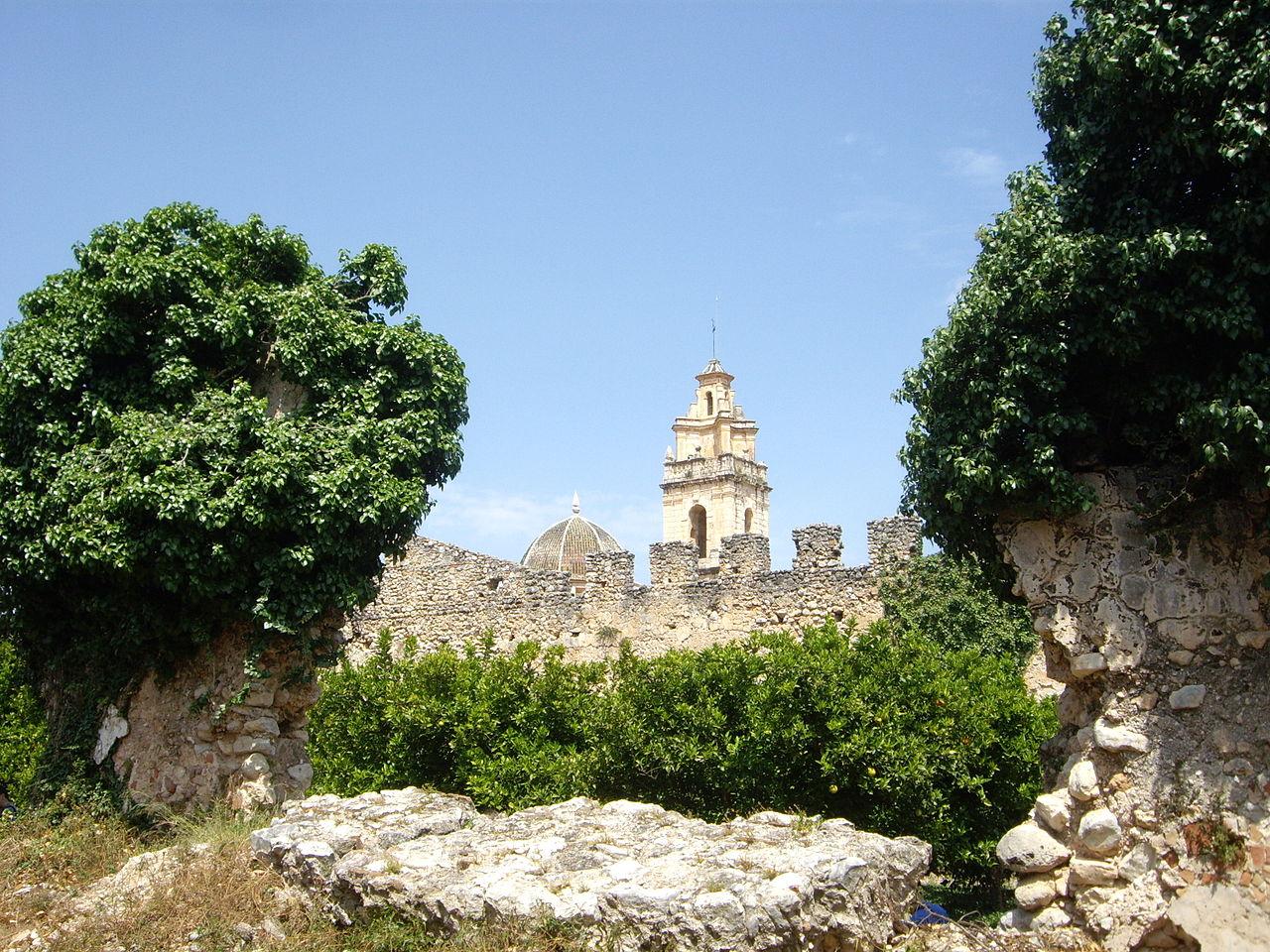 exterior Real Monasterio de Santa María de la Valldigna