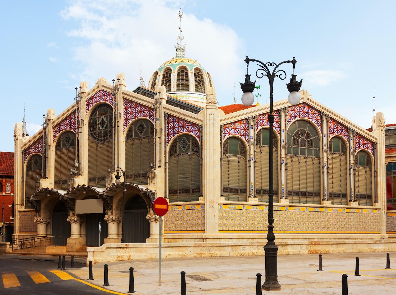 exterior mercado central de valencia