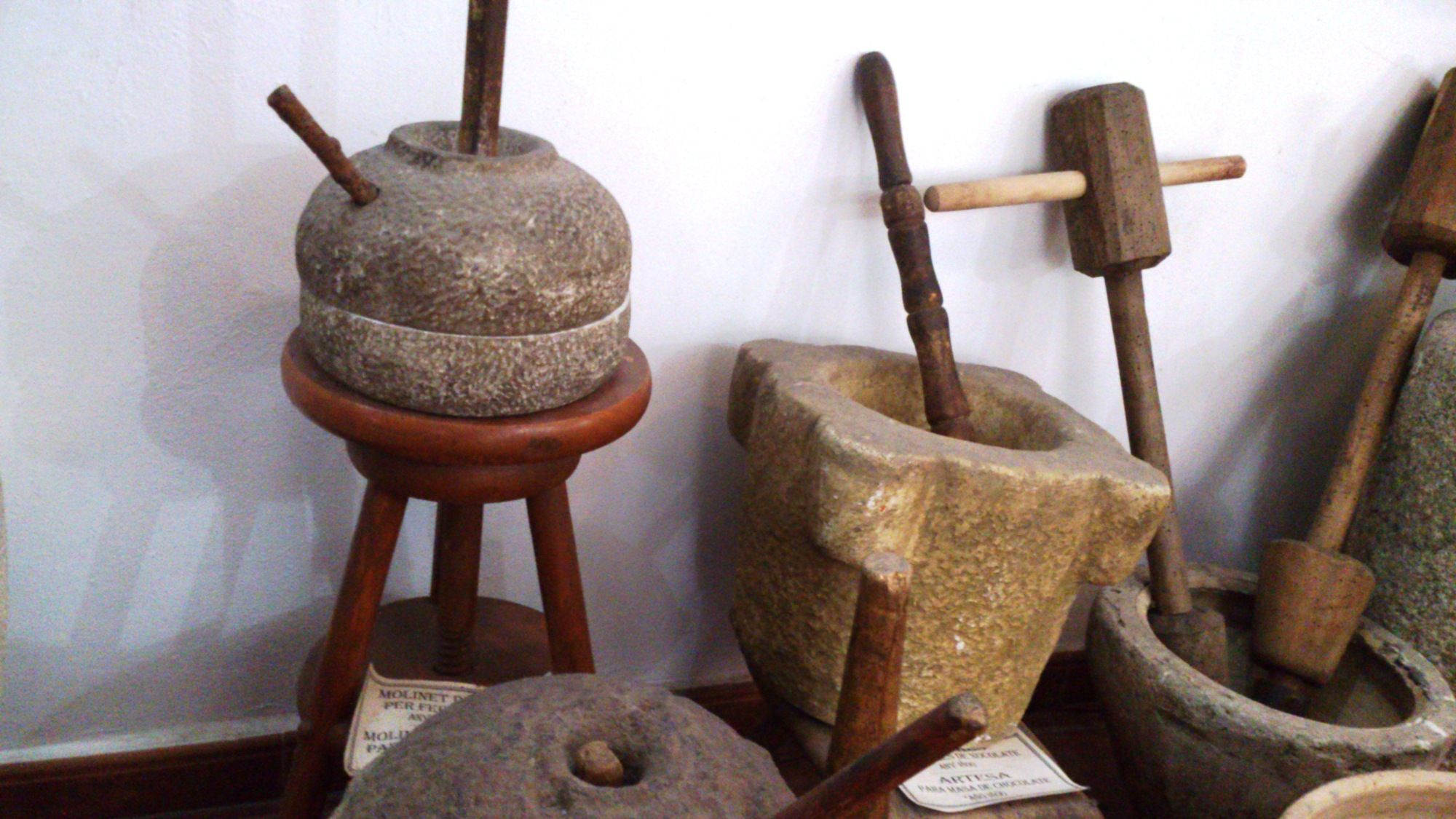 herramientas Museo del Chocolate de Sueca