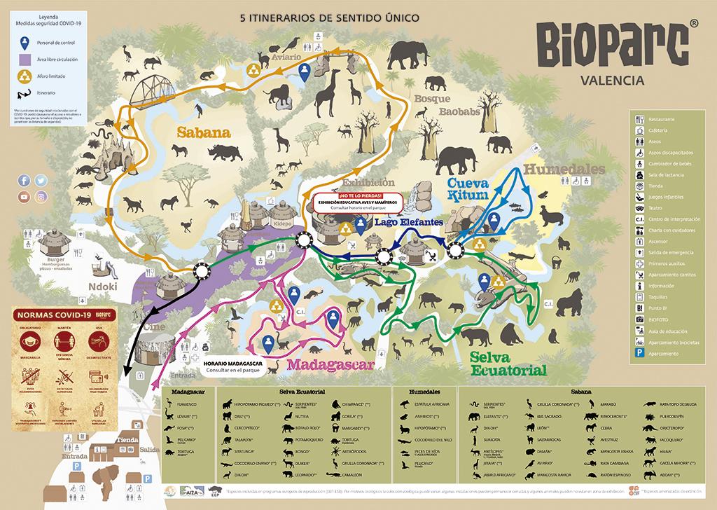 mapa bioparc