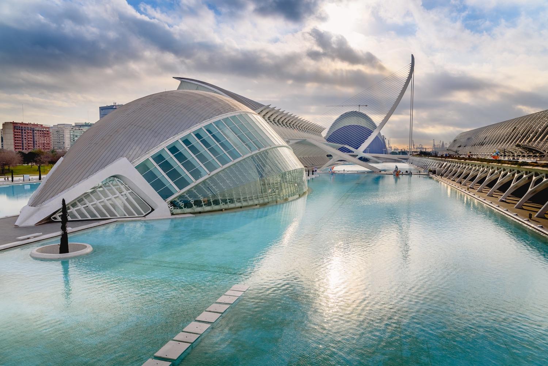 panoramica ciudad de las artes y las ciencias