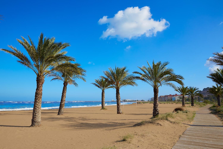Playa de Las Marinas en Denia