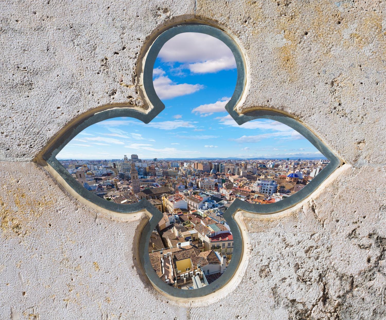 Vistas de Valencia desde El Miguelete