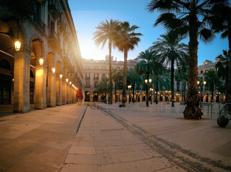 arcos plaza real barcelona