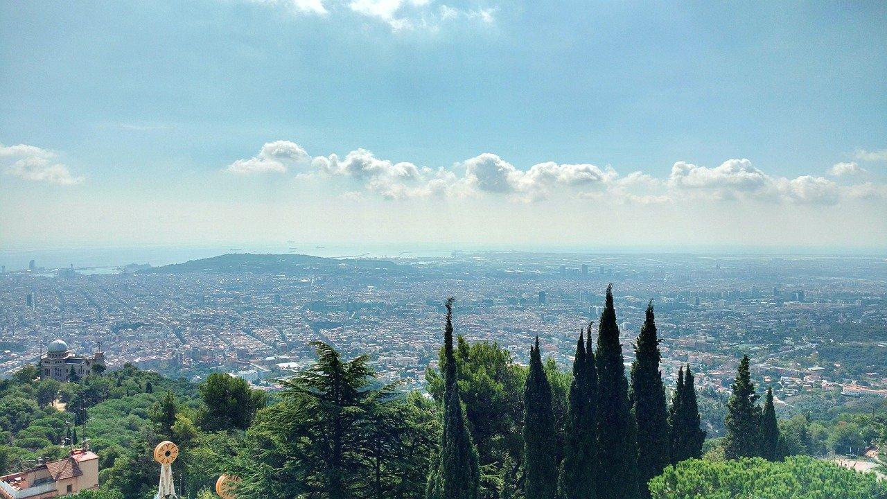 barcelona vista desde collserola