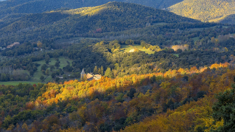 Parque del Montseni en otoño