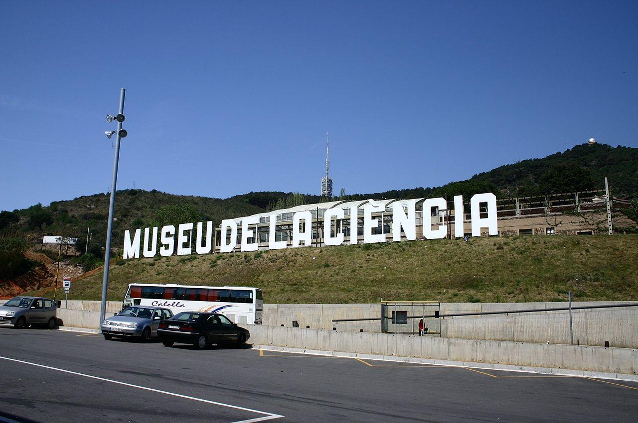 cartel museo de la ciencia de barcelona