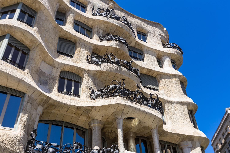 casa mila en barcelona