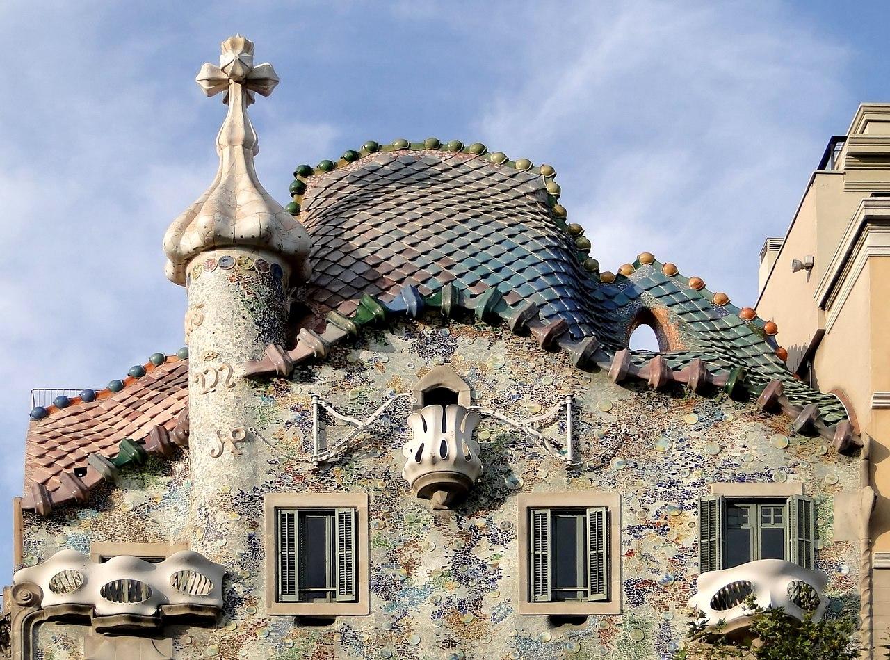 dragon casa batllo