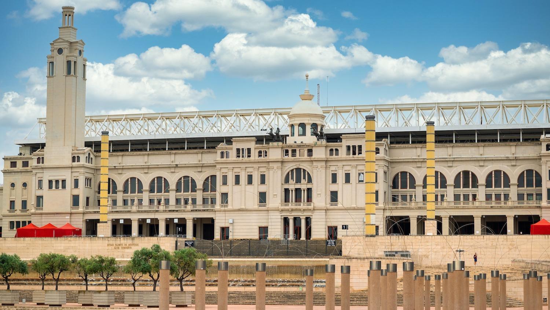 estadio olimpico barcelona