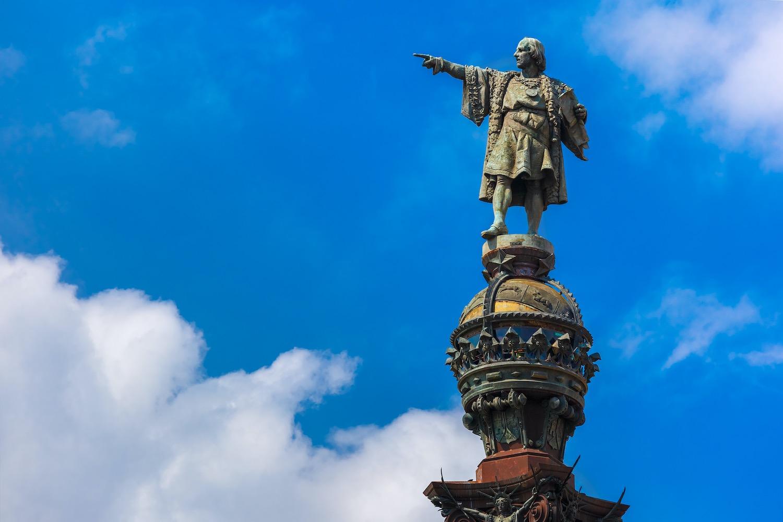 estatua de colon en barcelona