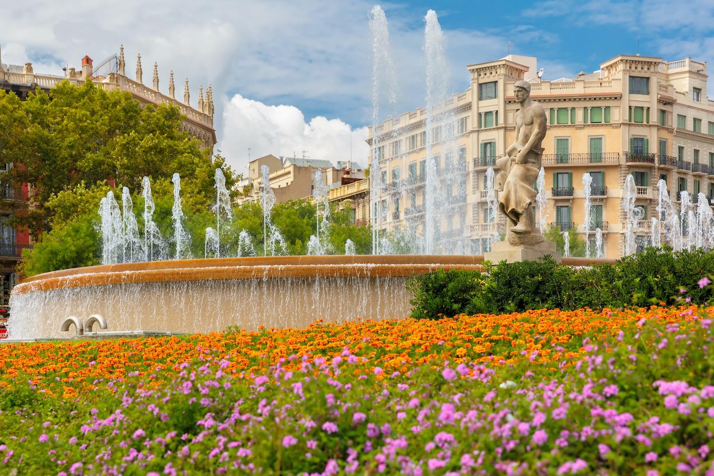 fuente de plaza cataluña