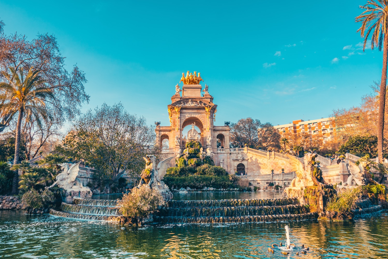 fuente del parque de la ciudadela en barcelona