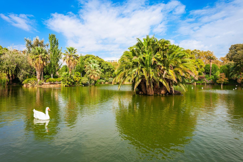 lago del parque de la ciudadela