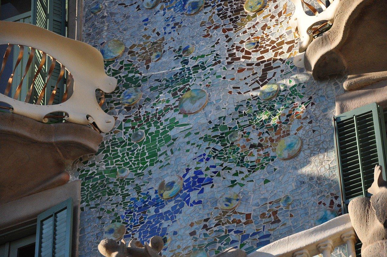 mosaicos casa batllo