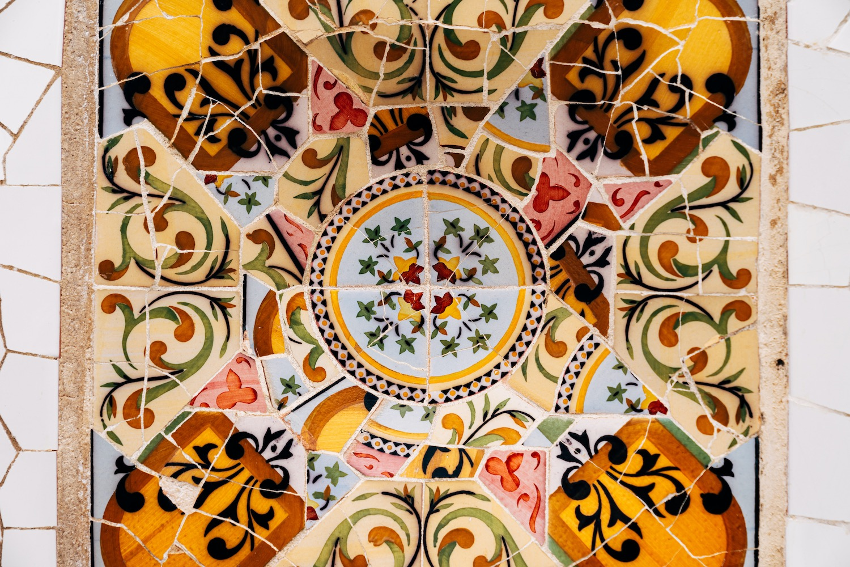 mosaicos parque güell