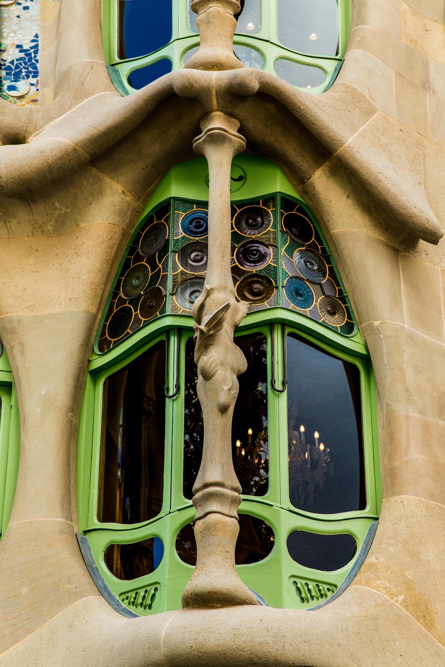 ventana casa batllo