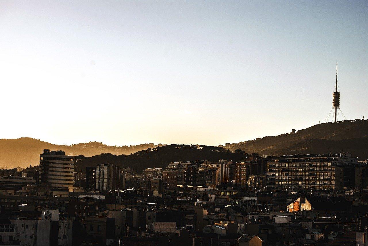 vistas de collserola desde barcelona