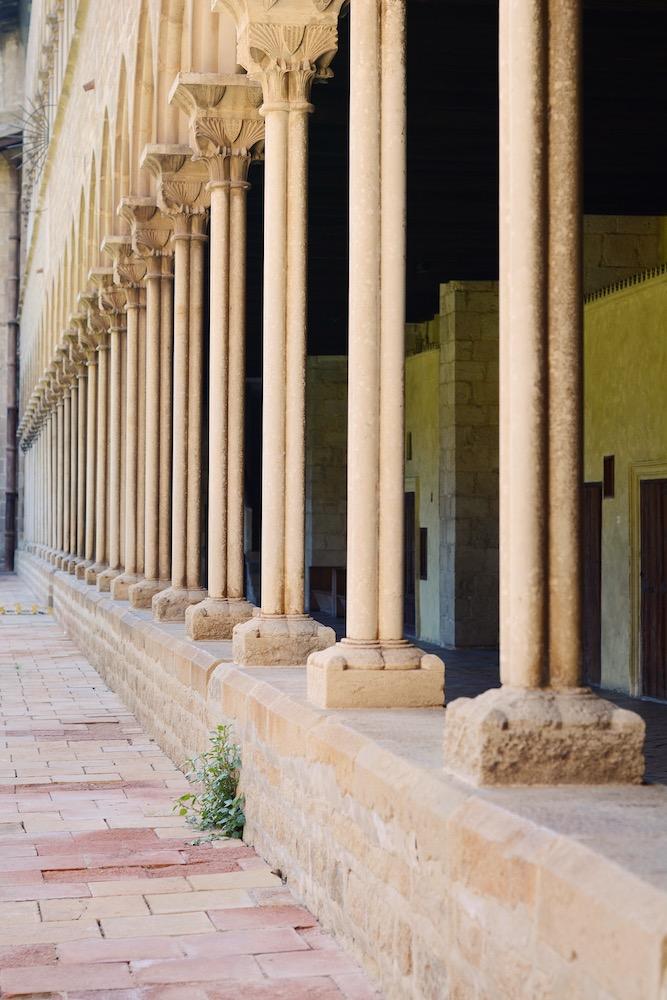 columnas monasterio pedralbes