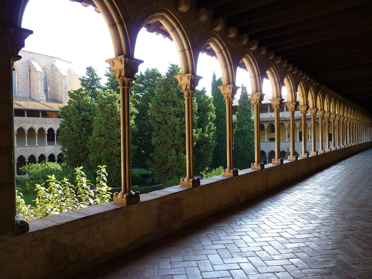 patio monasterio pedralbes